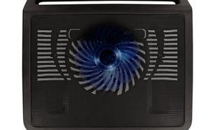 """4World Podstawka chłodząca do notebooka 17"""", 1x160mm, podświetlenie LED"""