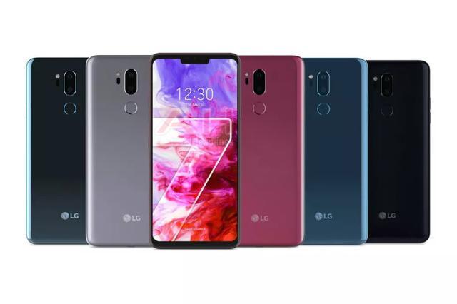 Kolory LG G7 ThinQ