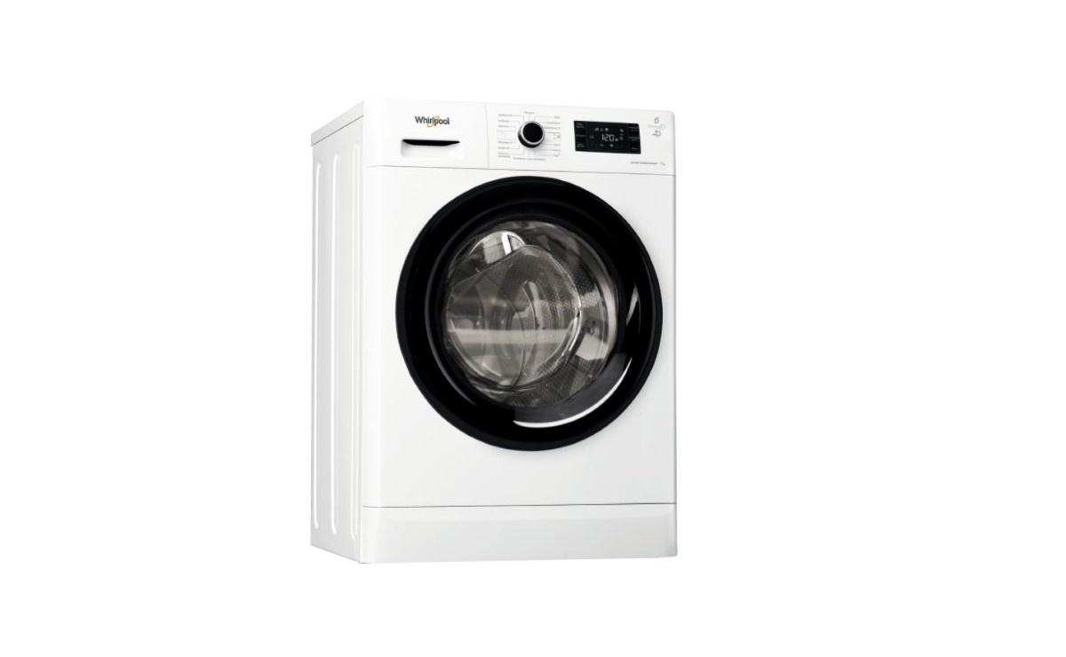 Whirlpool EFWSG71283BVPL na białym tle