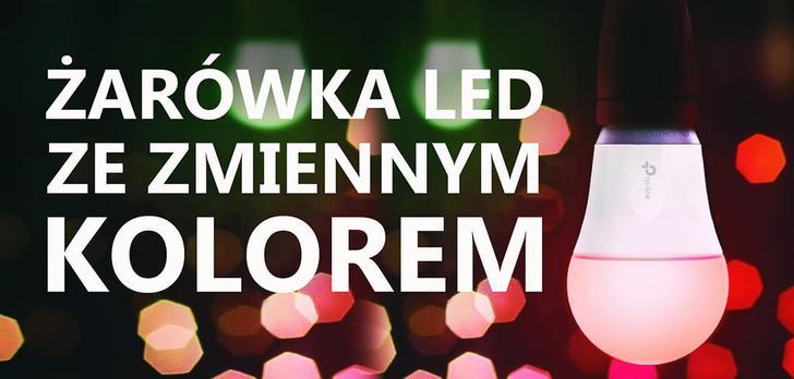 TP-Link LB130 - Żarówka LED ze Zmiennym Kolorem