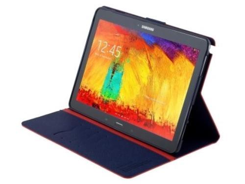 """WEL.COM Etui Fancy Diary do Galaxy Tab S 10.5"""" czerwono-granatowe"""