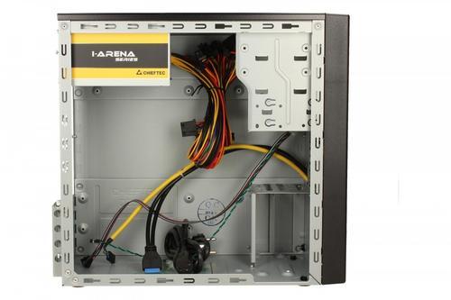 Chieftec SD-01B-U3-500 2xUSB3.0 MiniTower Black