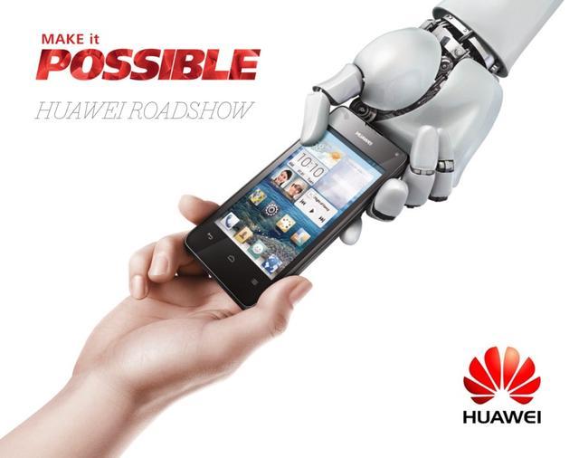 Trwa Huawei Roadshow Make it Possible