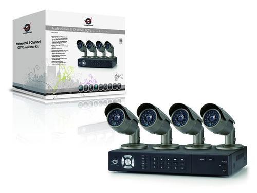 Conceptronic Zestaw CCTV Pro (4 Kamery + Rejestrator 8-kanałowy)