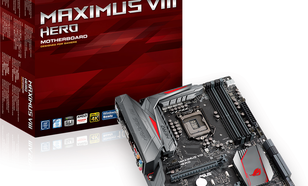 Płyta główna Asus MAXIMUS VIII HERO, Z170, QuadDDR4-2133, SATA3, HDMI, DP, USB 3.1, ATX (MAXIMUS VIII HERO)