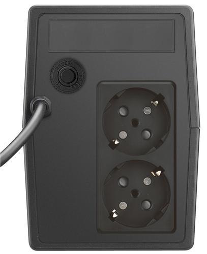 Lestar UPS A-650S AVR 2xSCH BL