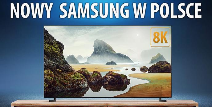 Telewizor Samsunga z 33 milionami pikseli trafia na polski rynek