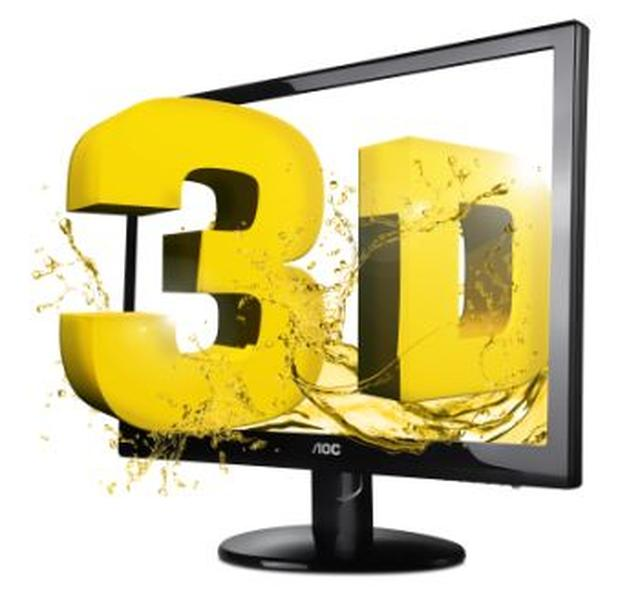Nowy, panoramiczny monitor 3D AOC