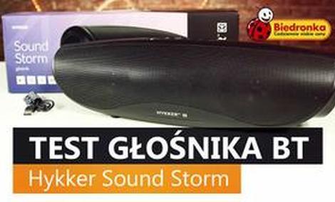 Hykker Sound Storm - Recenzja Głośnika Przenośnego z Biedronki
