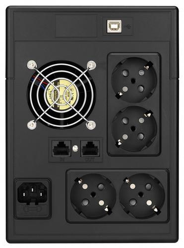 Lestar UPS V-1500SS AVR LCD 4xSCH USB RJ 45