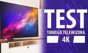 Toshiba 55U7863DG - Test taniego telewizora 4K