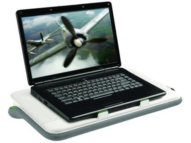 Logitech Speaker Lapdesk N700 – podstawka do notebooków typu wszystko w jednym