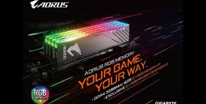 Gigabyte przygotuje pamięci RAM z RGB Fusion