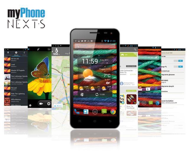 myPhone NEXT-S - kolejny niedrogi smartfon od firmy myPhone