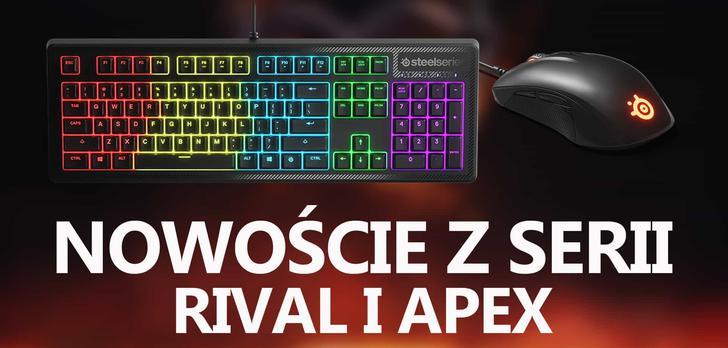 Steelseries Prezentuje Nowości z Serii Rival Oraz Apex