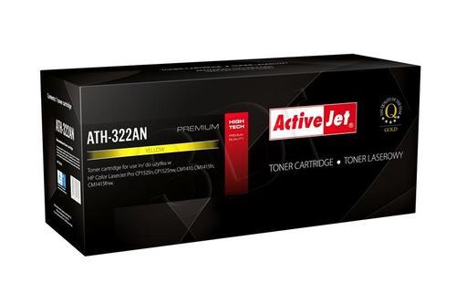 ActiveJet ATH-322AN żółty toner do drukarki laserowej HP (zamiennik 128A CE322A) Premium