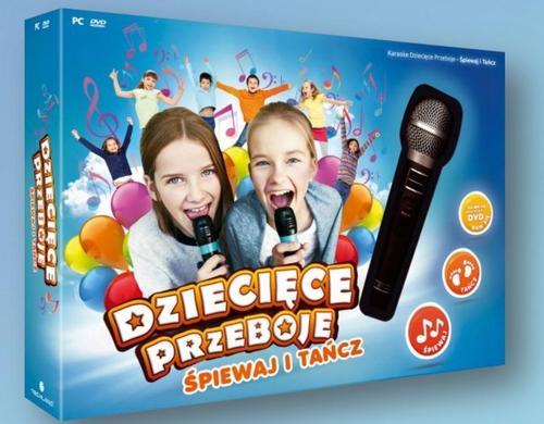 Techland Karaoke Dziecięce Przeboje: Śpiewaj i Tańcz PC