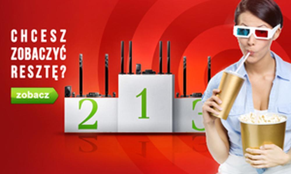 TOP 10 Lipiec 2015 - Jakie Kino Domowe Wybrać?