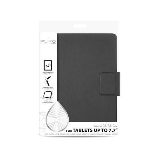 "Puro Universal Booklet Silk case etui tablet 7.7"" grey"
