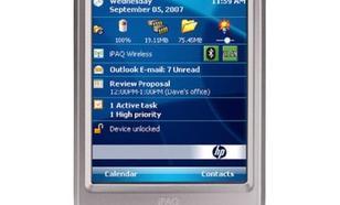 Prezentacja palmtopa HP iPAQ 114
