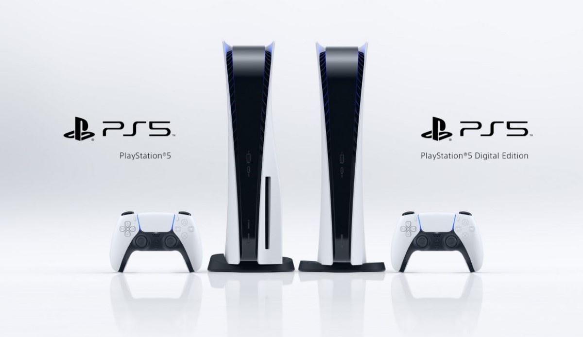 Dwie wersje Playstation 5