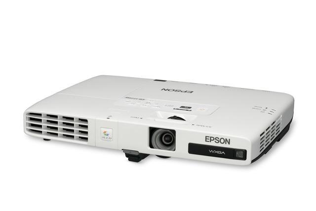 Mobilny projektor Epson EB-1776W z Wi-Fi i autokorekcją geometrii