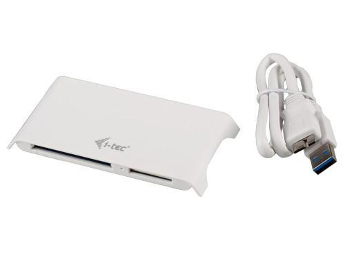 i-Tec Speed Card Reader USB 3.0 All-in-One - Czytnik kart pamięci biały