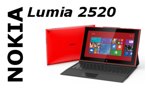 Nokia Lumia 2520 - pierwszy tablet Nokii z Windows