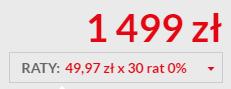 Kup smartfon Xiaomi Mi 9 Lite na raty 0% (49,97 zł * 30 rat)