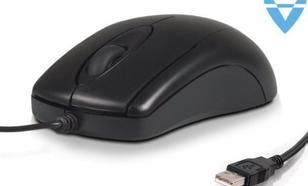 4world optyczna BASIC3 USB 800dpi czarna