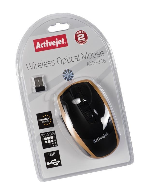 Activejet mysz USB AMY-316