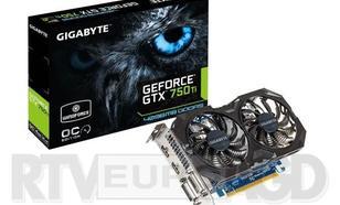 Gigabyte GeForce GTX750Ti OC 4096MB DDR5 128bit