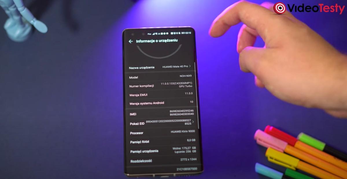 Nakładka Huaweia to EMUI 11