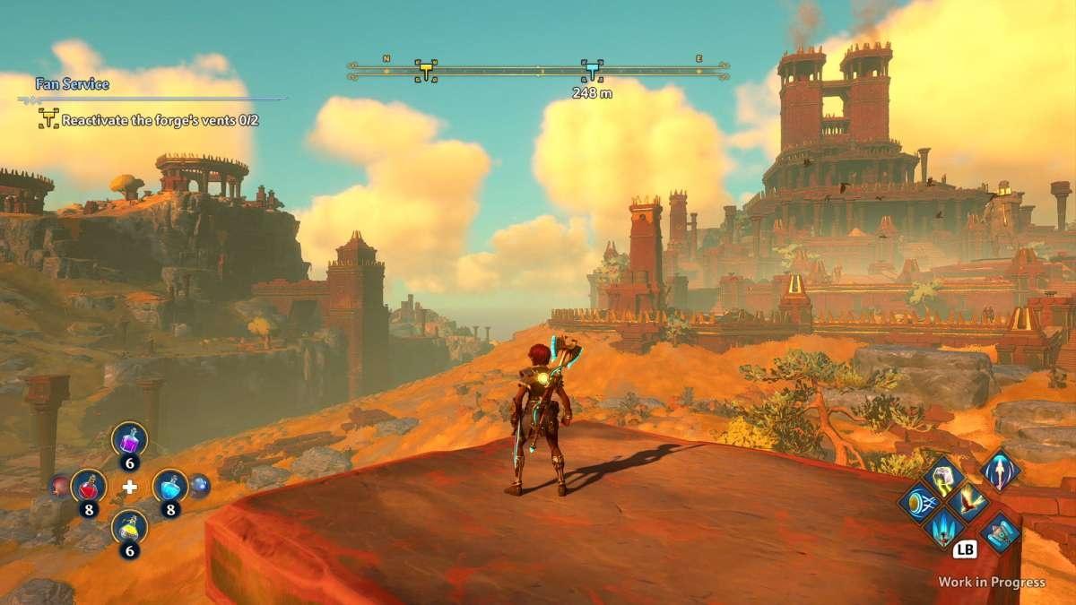 Immortals: Fenyx Rising - Czy to Zelda?