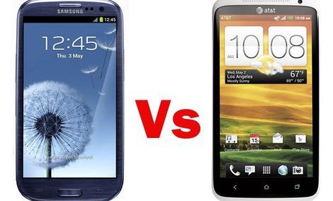 HTC one X vs. Samsung Galaxy S III - pojedynek gigantów na rynku smartfonów