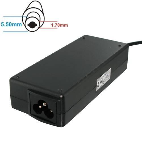 Whitenergy Zasilacz 19V | 3.42A 65W wtyk 5.5*1.7 Acer (04562)