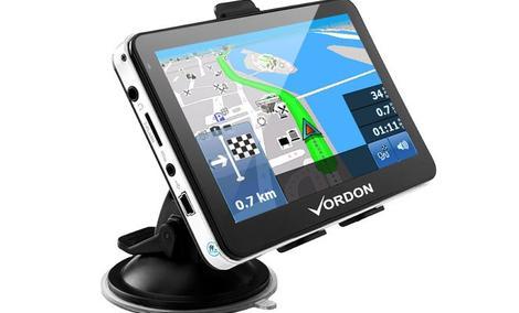 VORDON 5 Europa - niedroga nawigacja GPS