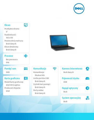 Dell Latitude 3550 Win78.1Pro(64-bit win8, nosnik) i7-5500U/1TB/8GB/BT 4.0/4-c
