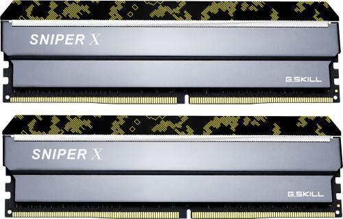 G.Skill Sniper X DDR4, 2x8GB, 2666MHz, CL19 (F4-2666C19D-16GSXK)