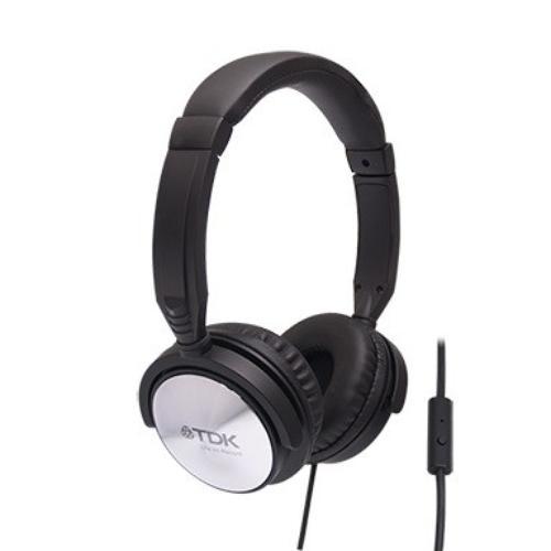 TDK Słuchawki z mikrofonem i pilotem ST170 czarne