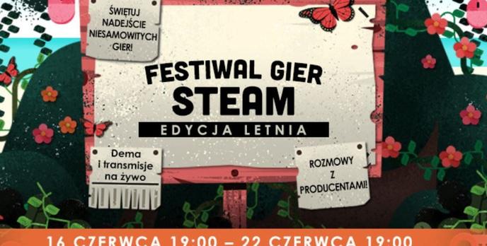 Letni festiwal gier wystartował w serwisie Steam