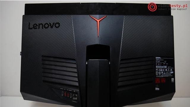 Lenovo Y910 tył