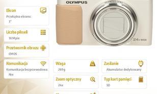 Olympus Stylus SH-60 white