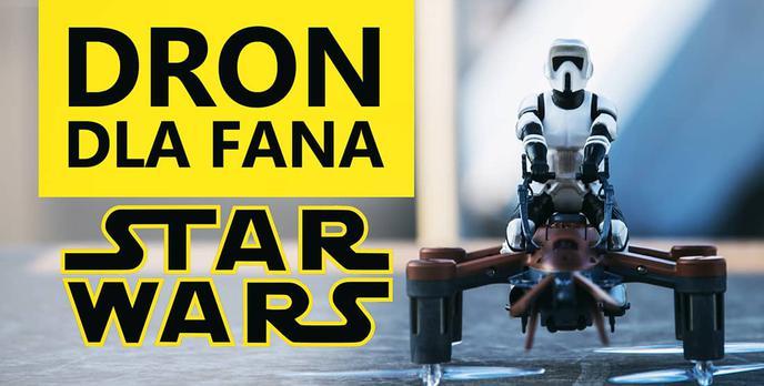 Najlepszy Dron Dla Fana StarWars? TEST Z74 SPEEDER BIKE!