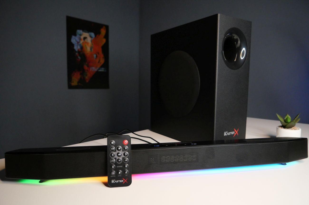 Creative Sound BlasterX Katana ogólny design zestawu