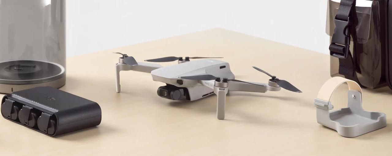 Dji Mavic Mini jest poręcznym dronem do nagrywania