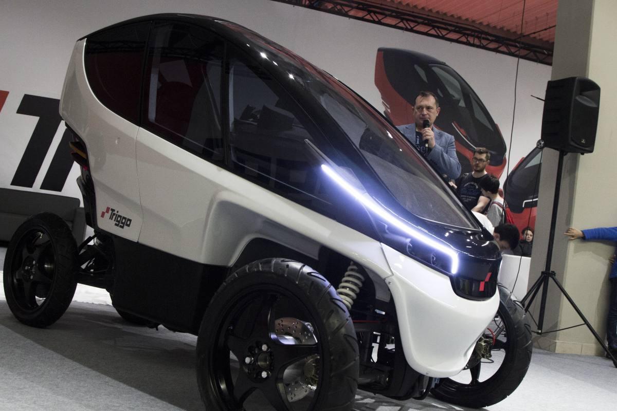 Triggo jest polskim projektem małego pojazdu (fot: materiały producenta)