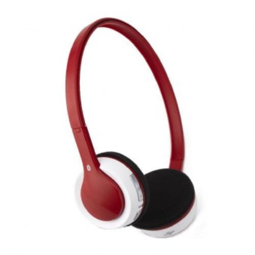 GEMBIRD Słuchawki z mikrofonem bezprzewodowe BHP-KBP-R czerwone
