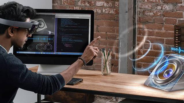 Technologia HoloLens od Microsoftu