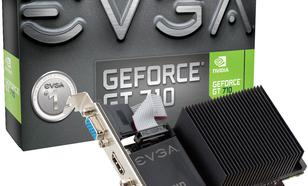 EVGA GeForce GT 710 2GB DDR3 (64 bit) DVI-D, HDMI, D-Sub, BOX (02G-P3-2712-KR)